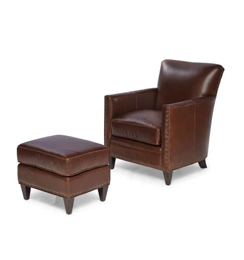 Picture of Logan-Chair---Logan-Ottoman---Trends-Walnut