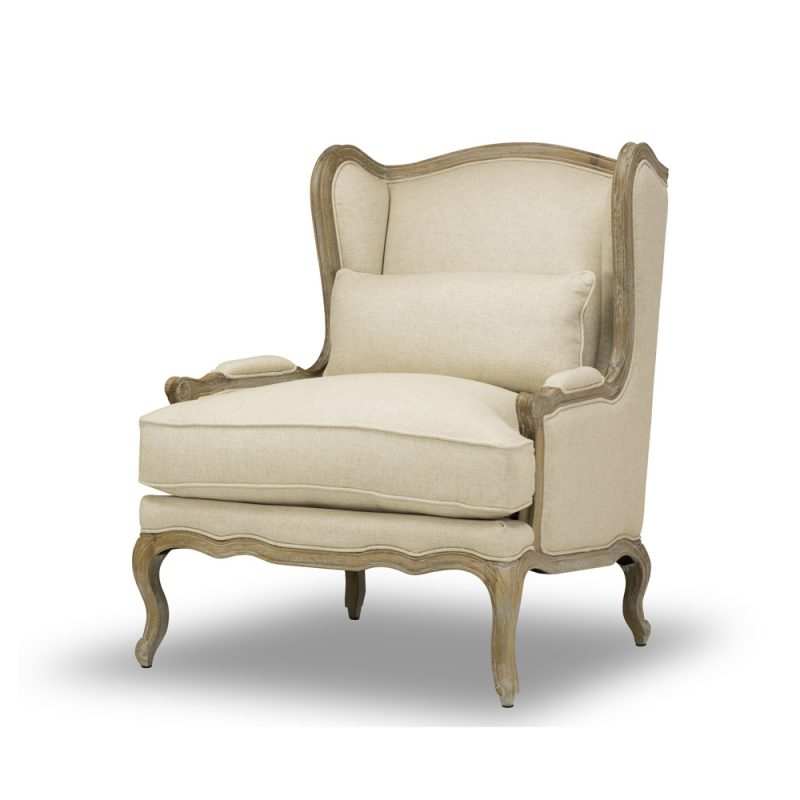 Camilla Carved Chair/Tribecca Natural