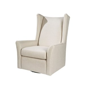 off white swivel chair high back modern chair