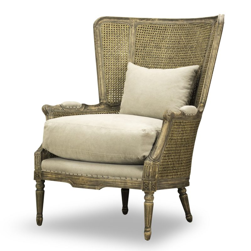 French inspired salon chair