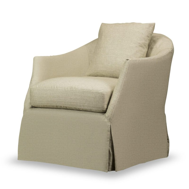 Amy Swivel Glider/Windfield Natural