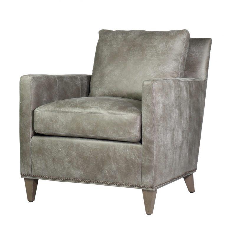 Parker Chair/Demetra Pewter