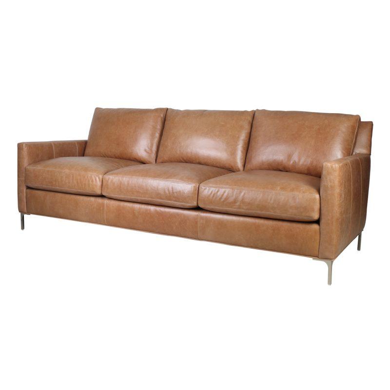 Turner Sofa in Iceburg  Cognac