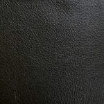 black leather fabric swatch