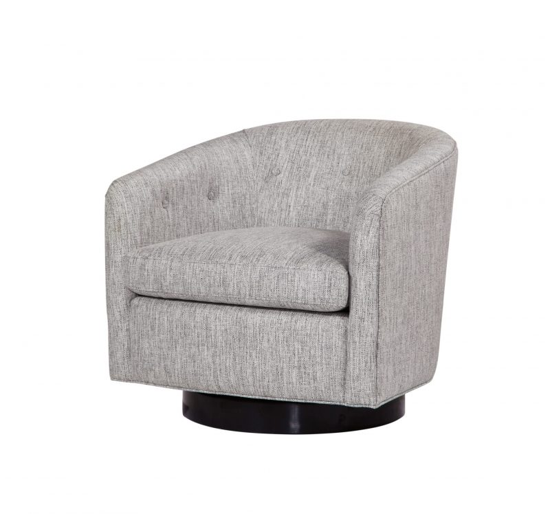 Faye Swivel Chair/Power Ash