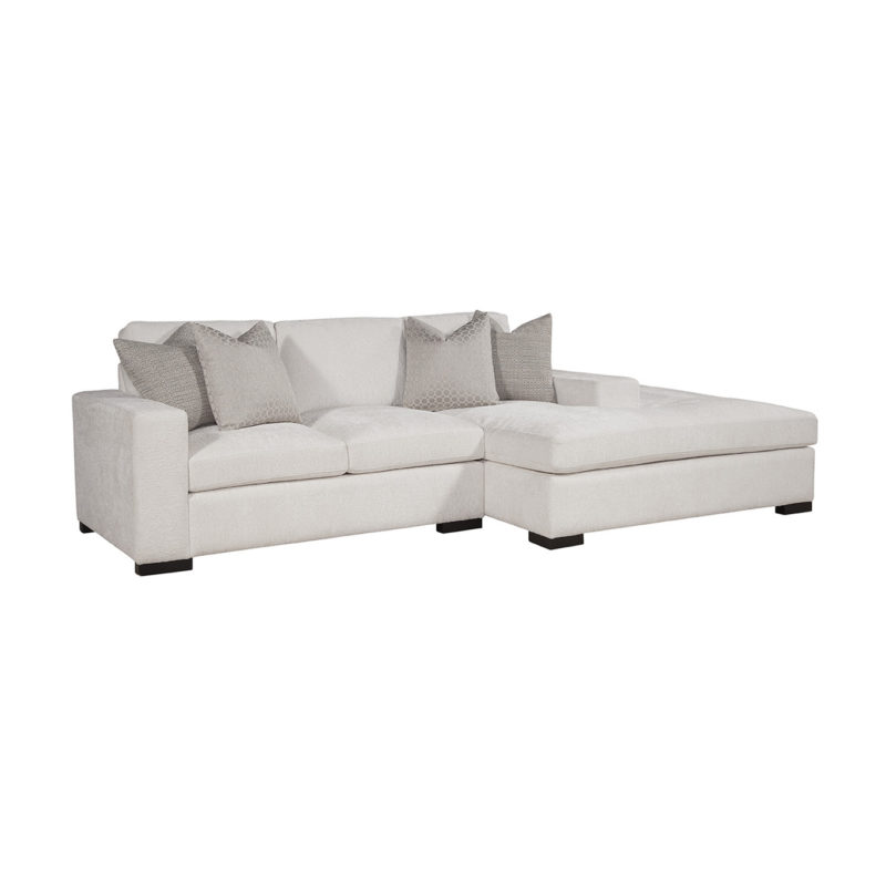 Newport LAF Loveseat in Gorgeous Canvas