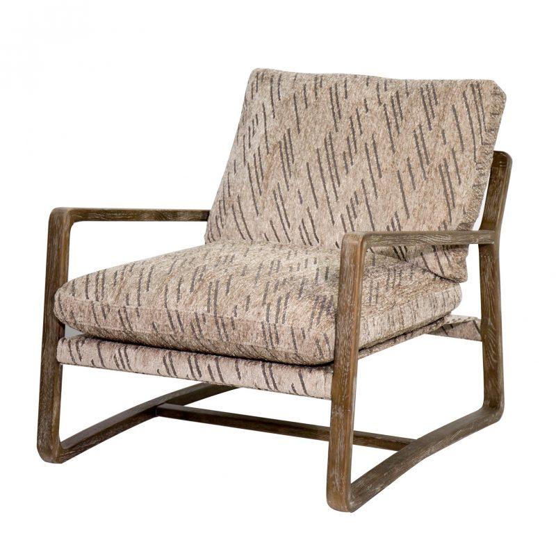 Santiago Chair in Vegas Stone