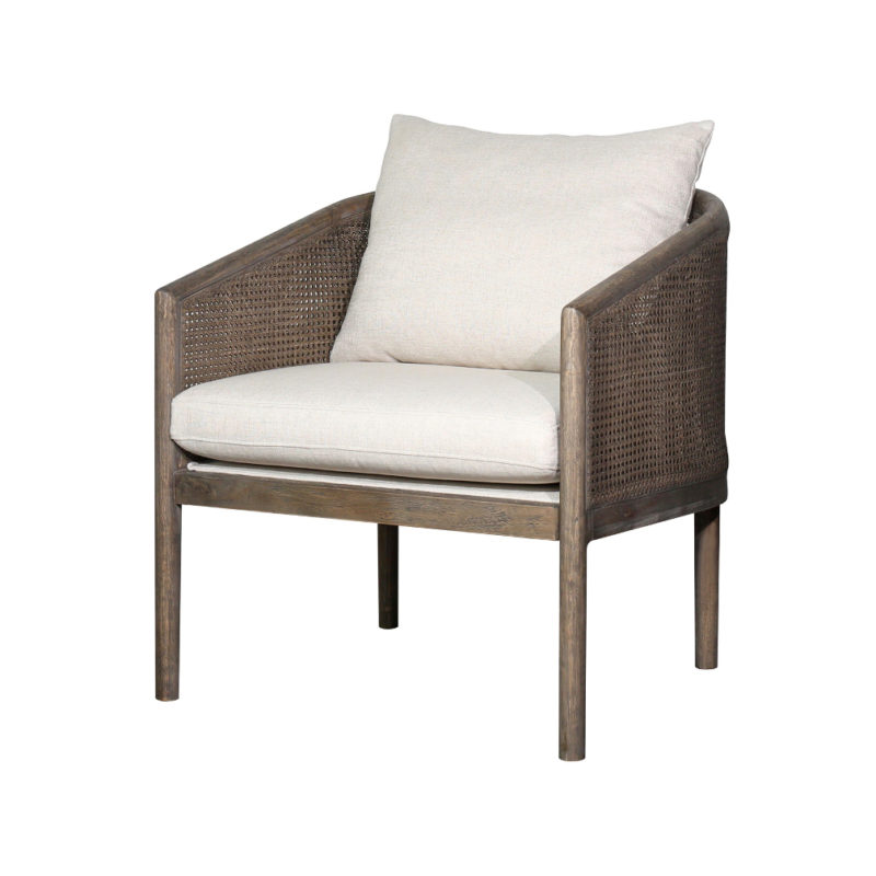 Theodore Tub Chair in Tribecca Natural