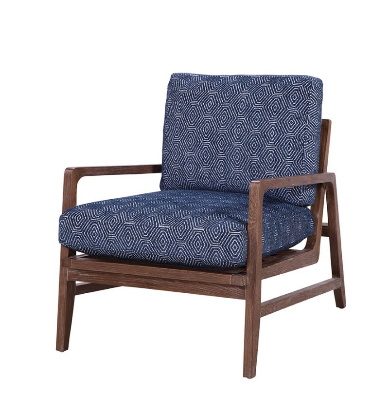 Glendale Chair in Fuego Navy
