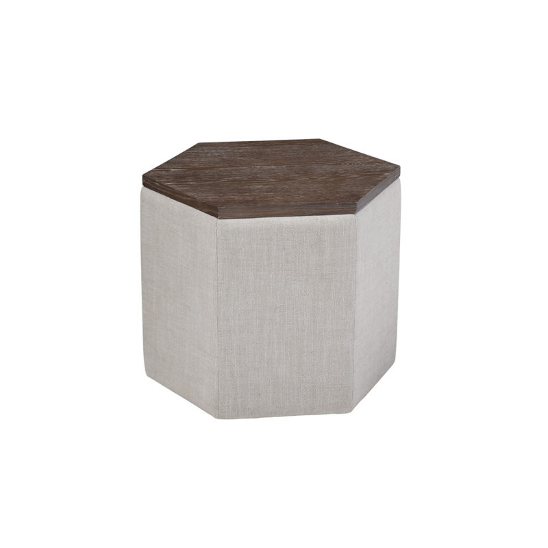 Fresno Bunching Cocktail Table in Floris Linen (Performance)
