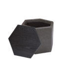 Fresno Bunching Cocktail Ottoman in Parrot Grey