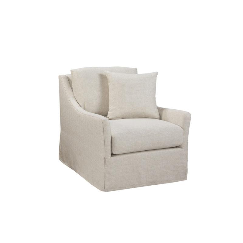 Kimpton Swivel Chair in Turbo Sand